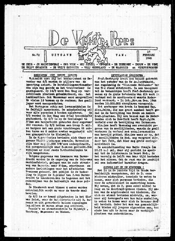 De Vrije Pers 1945-02-17