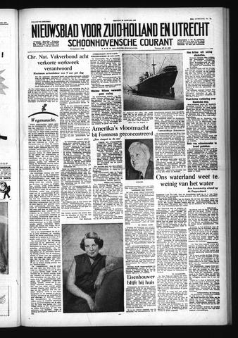 Schoonhovensche Courant 1955-01-28
