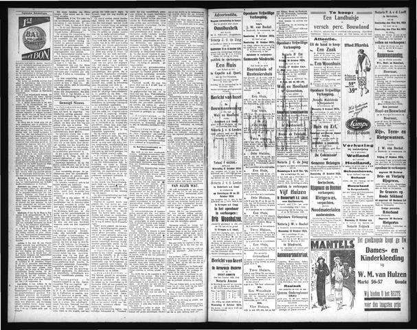 Schoonhovensche Courant 1924