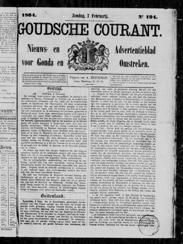 Goudsche Courant 1864-02-07