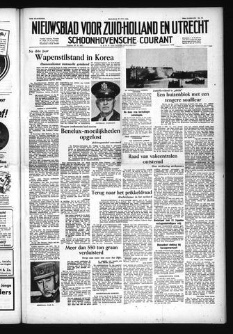 Schoonhovensche Courant 1953-07-27