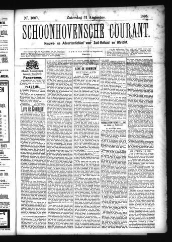 Schoonhovensche Courant 1895-08-31