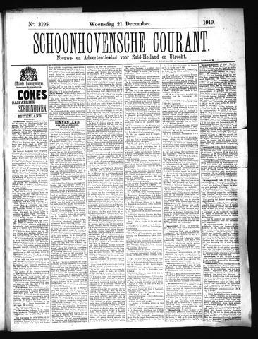 Schoonhovensche Courant 1910-12-21