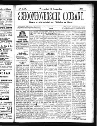 Schoonhovensche Courant 1903-12-16