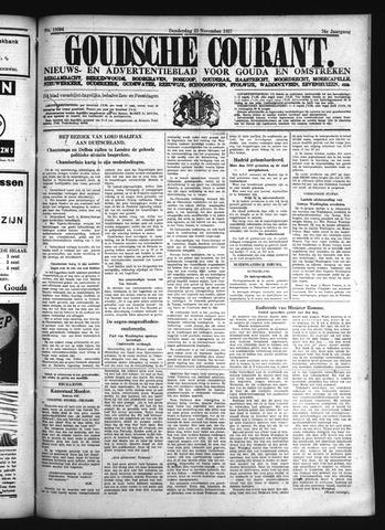 Goudsche Courant 1937-11-25