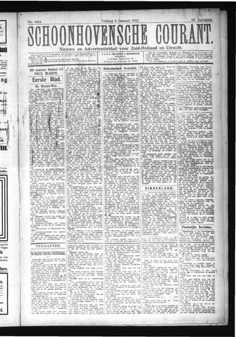 Schoonhovensche Courant 1922-01-06