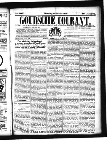 Goudsche Courant 1919-10-06