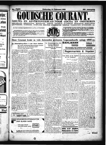 Goudsche Courant 1931-02-14