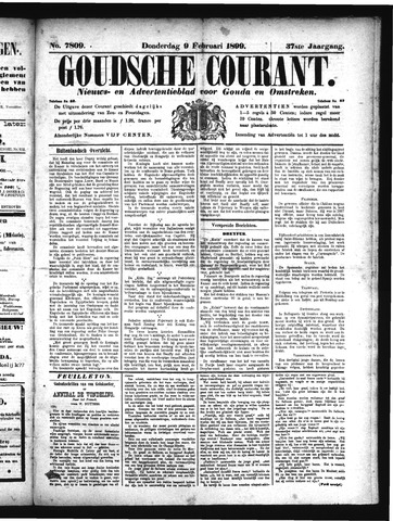Goudsche Courant 1899-02-09