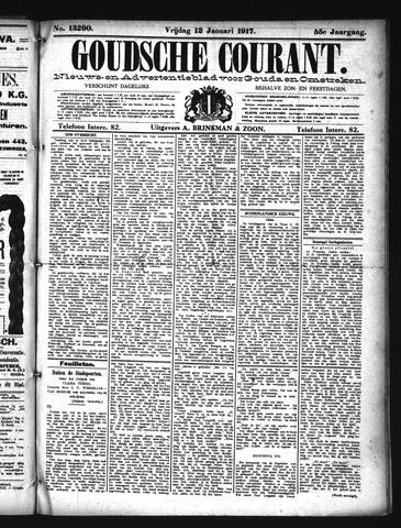 Goudsche Courant 1917-01-12