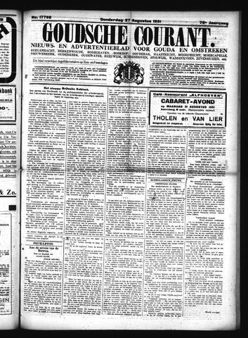 Goudsche Courant 1931-08-27