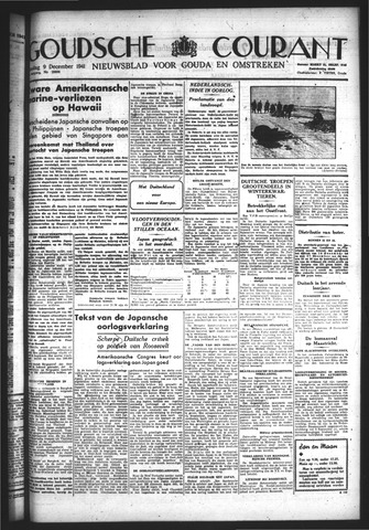 Goudsche Courant 1941-12-09