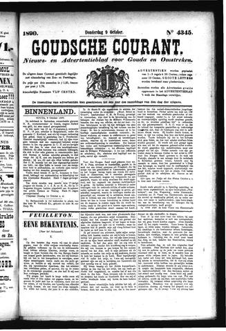 Goudsche Courant 1890-10-09