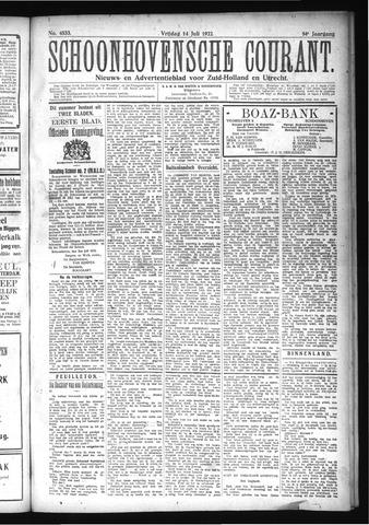 Schoonhovensche Courant 1922-07-14