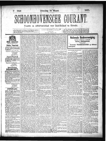 Schoonhovensche Courant 1918-03-12