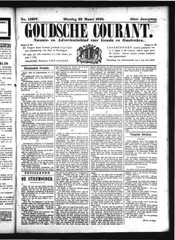 Goudsche Courant 1910-03-22