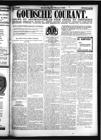 Goudsche Courant 1935-02-14