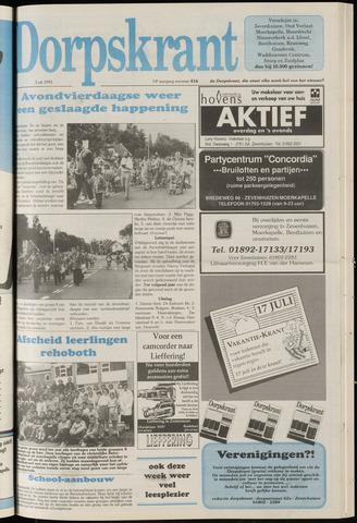 Dorpskrant 1991-07-03