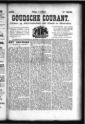 Goudsche Courant 1884-02-15