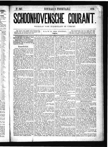 Schoonhovensche Courant 1876-02-06