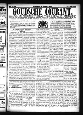 Goudsche Courant 1925-01-07