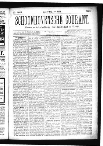 Schoonhovensche Courant 1909-07-10
