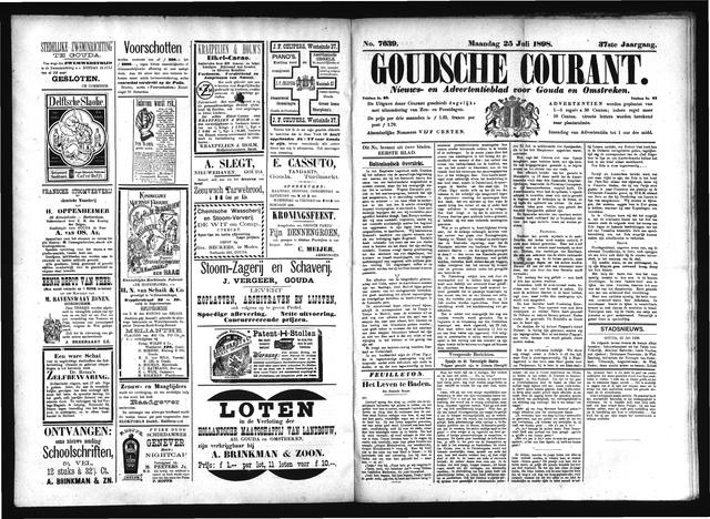 Goudsche Courant 1898-07-25