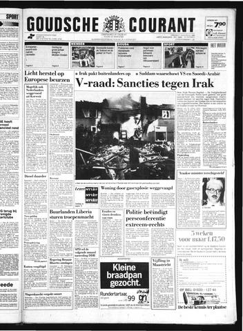 Goudsche Courant 1990-08-07