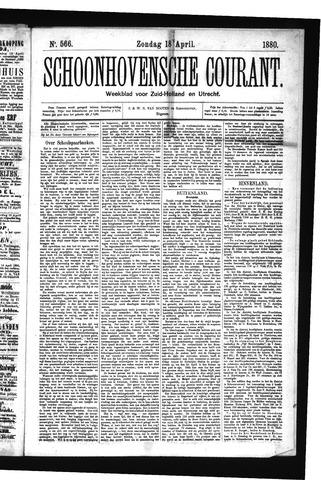 Schoonhovensche Courant 1880-04-18