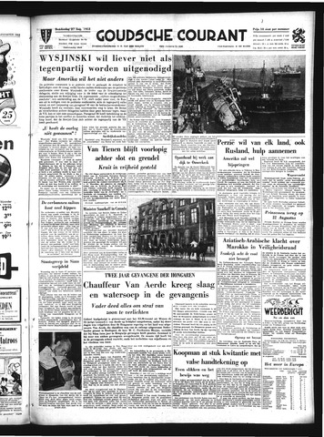 Goudsche Courant 1953-08-27