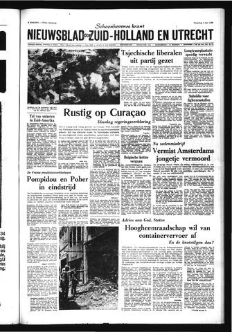 Schoonhovensche Courant 1969-06-02