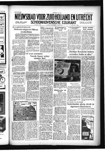 Schoonhovensche Courant 1956-07-09