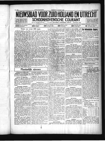 Schoonhovensche Courant 1934-10-22