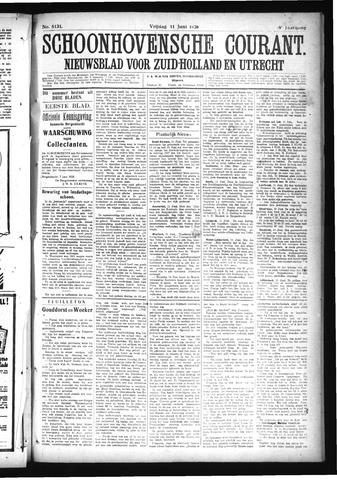 Schoonhovensche Courant 1926-06-11