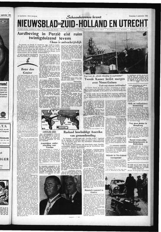 Schoonhovensche Courant 1962-09-05