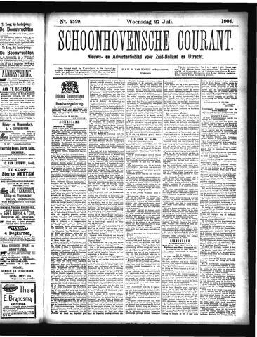 Schoonhovensche Courant 1904-07-27