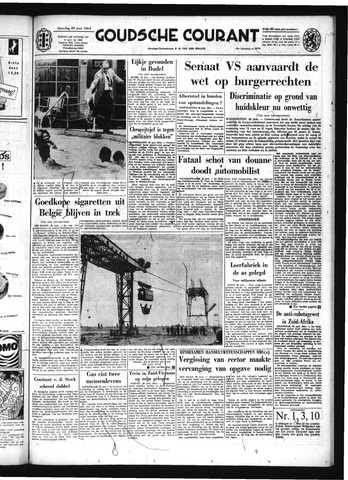 Goudsche Courant 1964-06-20
