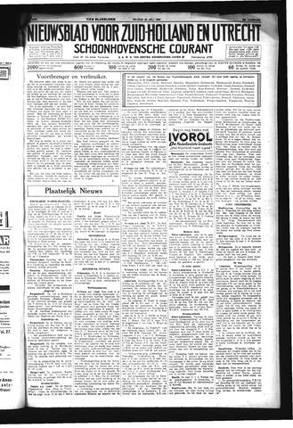Schoonhovensche Courant 1934-07-20
