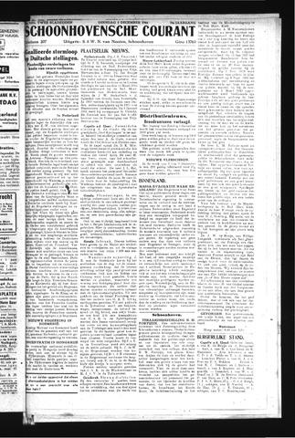 Schoonhovensche Courant 1944-12-05