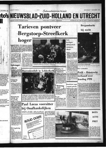 Schoonhovensche Courant 1974-10-07