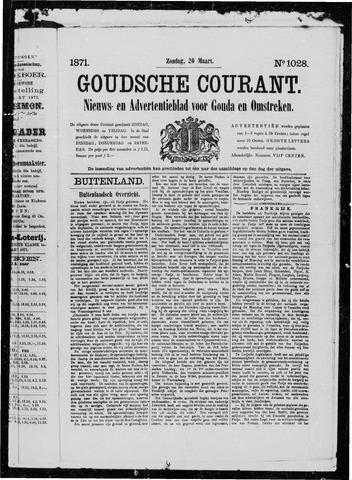 Goudsche Courant 1871-03-26