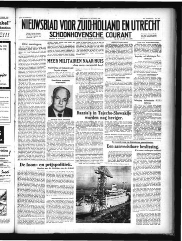 Schoonhovensche Courant 1949-10-12