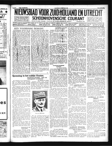 Schoonhovensche Courant 1940-02-26