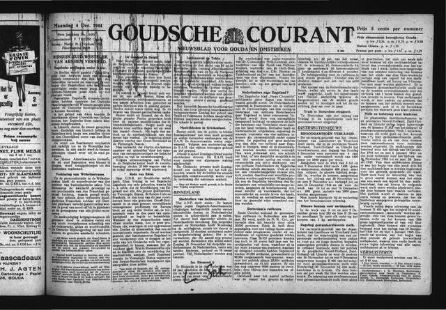 Goudsche Courant 1944-12-04