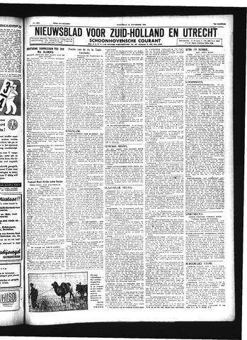 Schoonhovensche Courant 1942-11-25