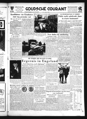 Goudsche Courant 1956-01-13
