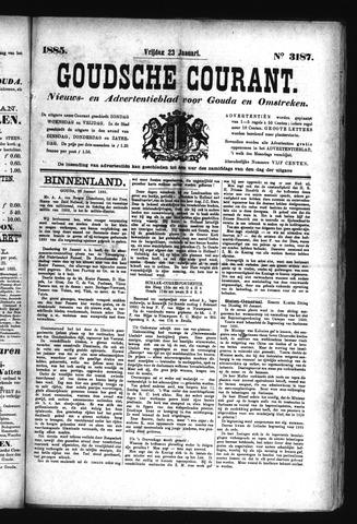 Goudsche Courant 1885-01-23