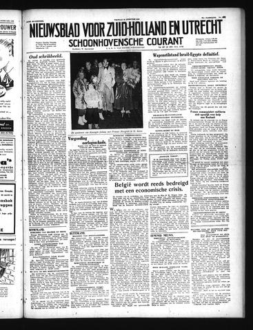 Schoonhovensche Courant 1949-02-25