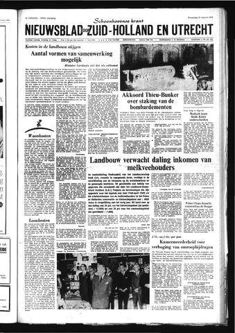 Schoonhovensche Courant 1968-10-30