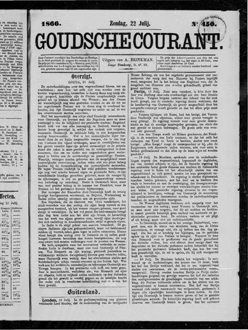 Goudsche Courant 1866-07-22